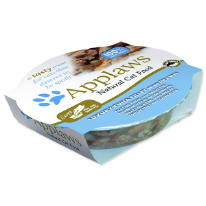Kalíšek APPLAWS Cat Luxury Tuna Fillet with Prawn 60g