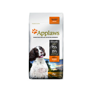 Krmivo APPLAWS Dry Dog Chicken Small & Medium Breed Adult 2kg