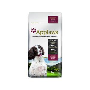 APPLAWS Dry Dog Lamb Small & Medium Breed Adult 2kg