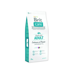 BRIT Care Grain-free Dog Adult Salmon & Potato 12kg
