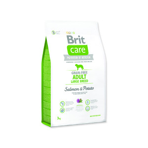 BRIT Care Grain-free Dog Adult Large Breed Salmon & Potato 3kg