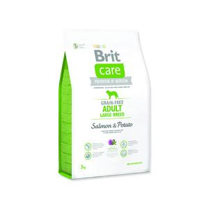 BRIT Care Grain-free Dog Adult Large Breed Salmon & Potato 3kg