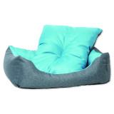 Sofa DOG FANTASY Květy modré 75 cm 1ks