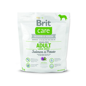 BRIT Care Grain-free Dog Adult Large Breed Salmon & Potato 1kg