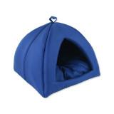 Kukaň DOG FANTASY Basic tmavě modrá 43 cm 1ks
