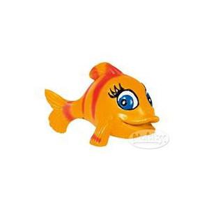 Dekorace do akvária Ryba oranžová 8 x 6 x 6 cm