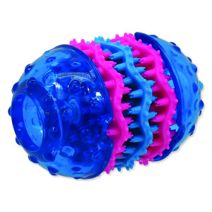 Hračka DOG FANTASY TPR Dental modrá 10,8 cm 1ks