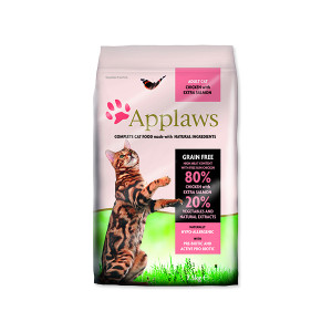 APPLAWS Dry Cat Chicken & Salmon 7,5KG