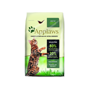 Krmivo APPLAWS Dry Cat Chicken with Lamb 7,5kg