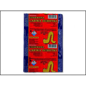 Krmivo KATRINEX blood worms / patentka mražené 100g