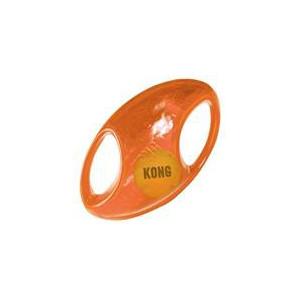 Hračka guma tenis Jumbler míč rugby Kong medium/large