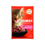 Kapsička IAMS Cat Delights Salmon & Trout in Jelly 85g