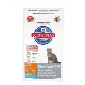 Hills Feline Dry Adult Young Sterilised Tuna 3,5kg