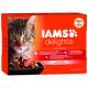 Kapsičky IAMS Cat výběr ze suchozemských mas v omáčce multipack 1020g