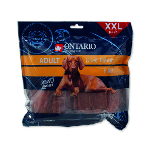 Snack ONTARIO dry rabbit fillet 500g