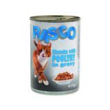 Konzerva RASCO Cat drůbeží kousky ve šťávě