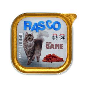 Paštika RASCO Cat se zvěřinou 100g