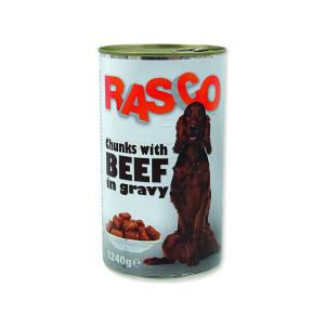 Konzerva RASCO hovězí kousky ve šťávě 1240g