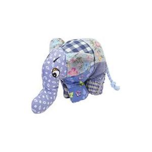 Hračka textil Slon barevný RW 24 cm