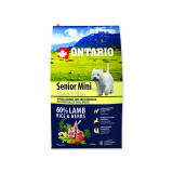 ONTARIO Senior Mini Lamb & Rice 6,5kg