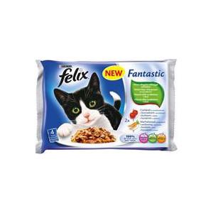 Felix Fantastic kapsičky masový výběr + zelenina 400g