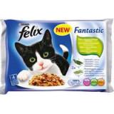Felix Fantastic výběr z ryb + zelenina 400g