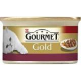 Gourmet Gold konzerva jemná paštika kuře a játra 85 g