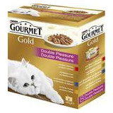 Gourmet Gold konzerva gril kousky Mix Multipack 7 + 1 ks zdarma x 85 g