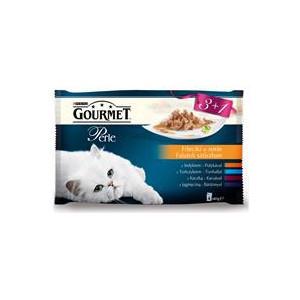 Gourmet Perle kapsičky Multipack filety ve šťávě 4 x 85 g