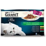Gourmet Perle kapsičky Multipack filety se zeleninou 4 x 85 g
