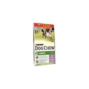Purina Dog Chow Adult Lamb+Rice 14 kg + 2,5 kg ZDARMA