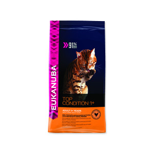 EUKANUBA Cat Adult Top Condition 1+ 4kg + doprava zdarma