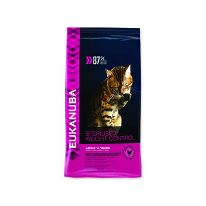 EUKANUBA Cat Adult Sterilised / Weight Control 1,5kg