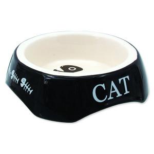 Miska MAGIC CAT potisk Cat černá 15 cm 1ks