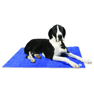 Podložka SCRUFFS Self-Cooling Mat modrá XL 1ks