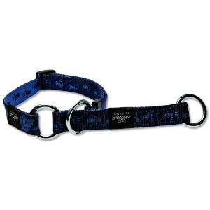 Obojek ROGZ Alpinist polostahovací modrý L 1ks