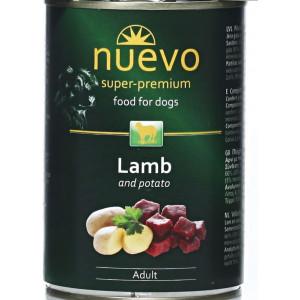 Nuevo pes adult Jehněčí - Classic konz. 400 g