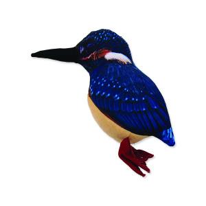 Hračka DOG FANTASY textilní pták 23 cm 1ks