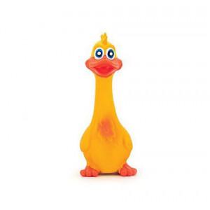 Hračka Pes Latex Kačer Squerky Duck hnědý 19 cm Lill