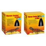 Lucky Reptile Thermo Socket LV plus Reflector LV Mini Set