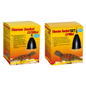 Lucky Reptile Thermo Socket LV plus Reflector LV Mini