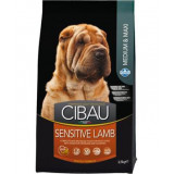 CIBAU Dog Adult Sensitive Lamb&Rice 2,5 kg