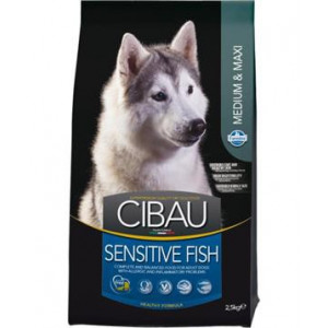 CIBAU Dog Adult Sensitive Fish&Rice 2,5 kg