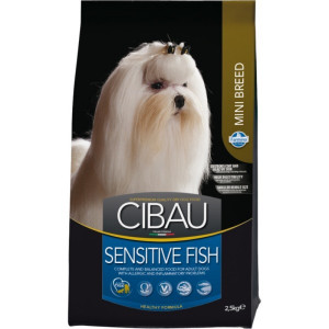 CIBAU Dog Adult Sensitive Fish&Rice Mini 2,5 kg