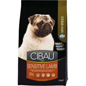CIBAU Dog Adult Sensitive Lamb&Rice Mini 800 g