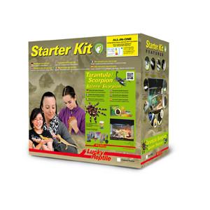 Lucky Reptile Starter Kit Tarantula + Scorpion 50x28x40 cm bílé