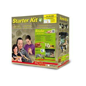 Lucky Reptile Starter Kit Snake Starter Kit Snake 80x40x52 cm černé