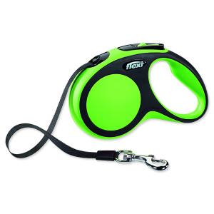 Vodítko FLEXI Comfort New páska zelené S 1ks