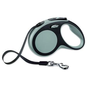 Vodítko FLEXI New Comfort páska šedé S 1ks