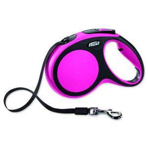 Vodítko FLEXI New Comfort páska růžové M 1ks